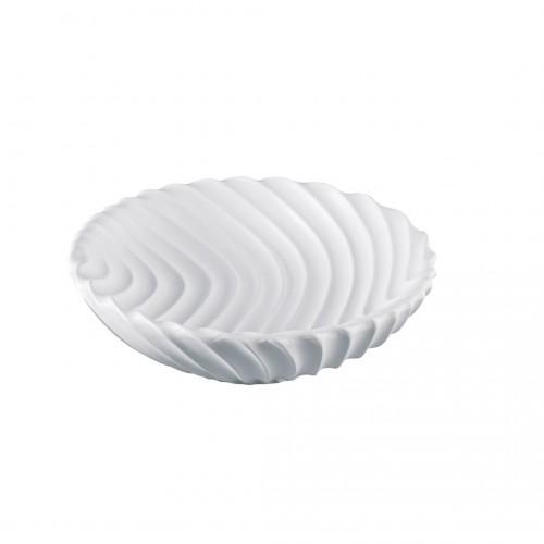 Centrotavola onda bianco