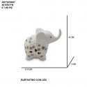 Elefantino con led