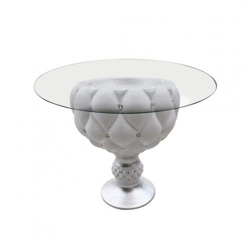 Tavolino Divina Silver