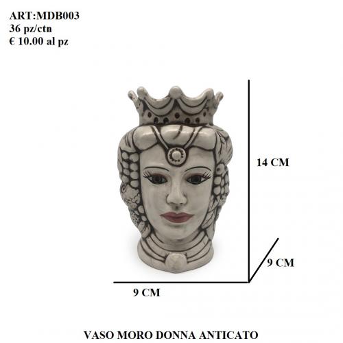 Vaso Moro Donna anticato 003