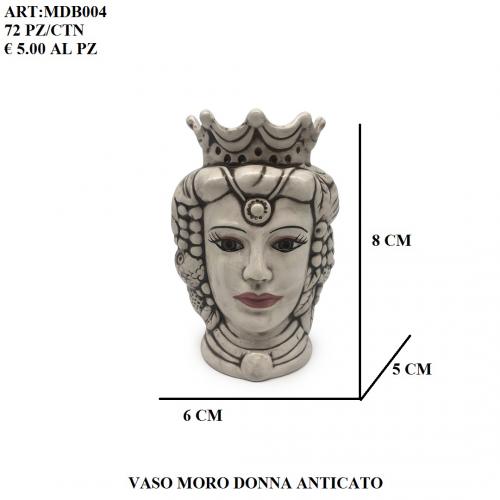 Vaso Moro Donna anticato 004